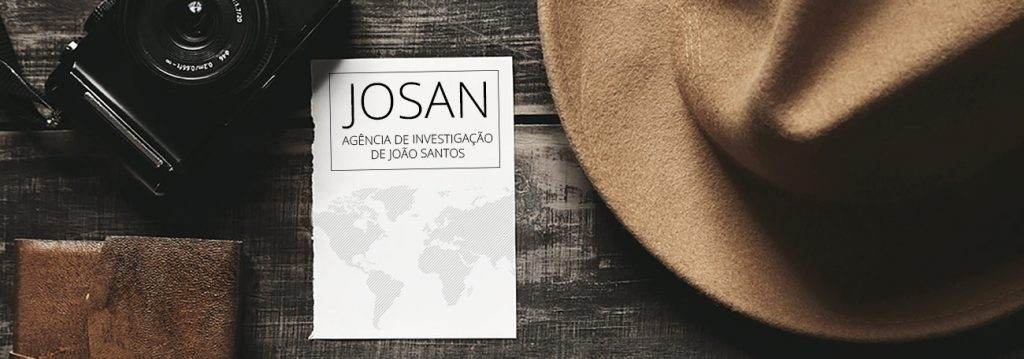 A agência Josan trabalha em investigação particular e em investigação comercial